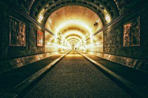 tunnel, elbe tunnel, hamburg