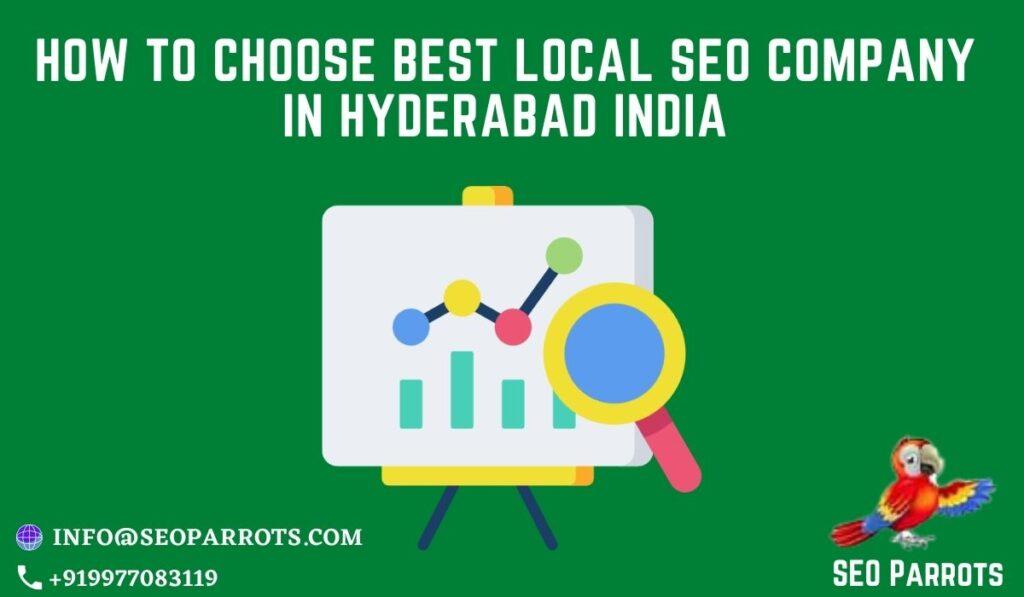 Local SEO Company in Hyderabad